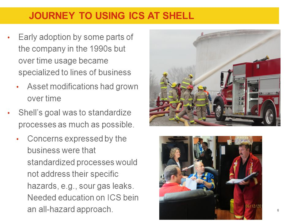 ICS USAGE: UNITED STATES  In the United States, ICS became a national model for command structures at a fire, crime scene or major incidents.