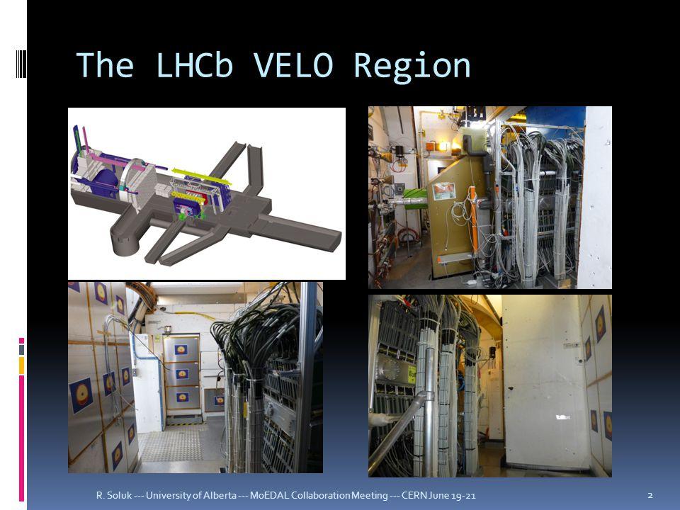 The LHCb VELO Region R.