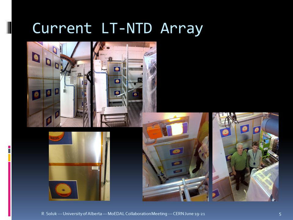 Current LT-NTD Array R.