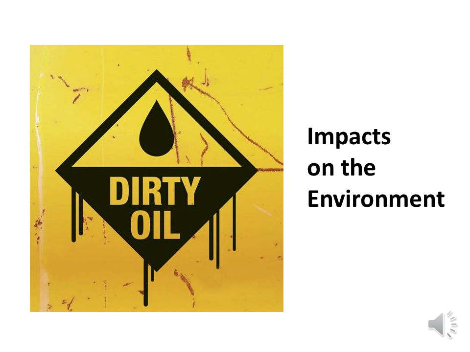 Impacts on the Environment