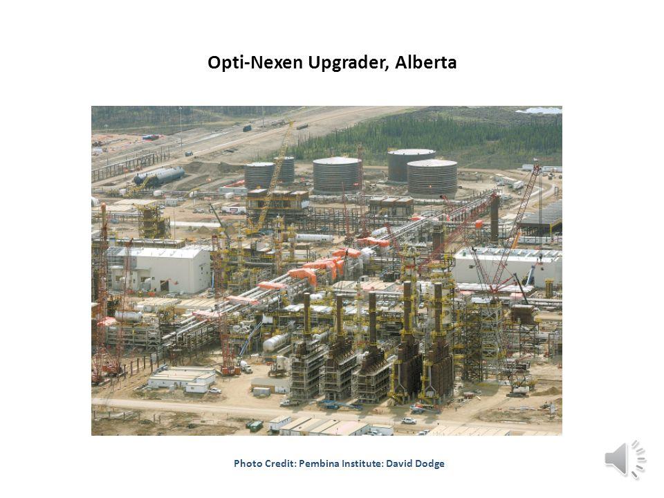 Opti-Nexen Upgrader, Alberta Photo Credit: Pembina Institute: David Dodge