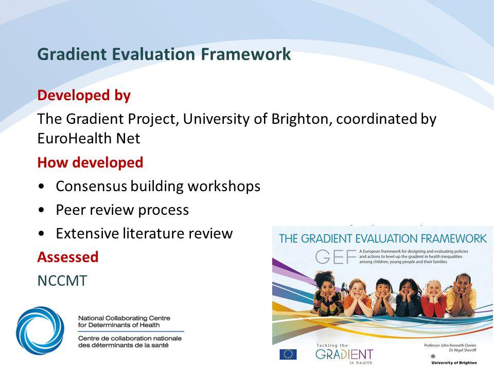 Gradient Evaluation Framework