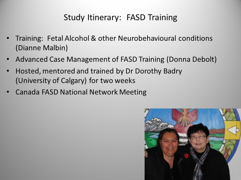 Viewing FASD as a Lifespan Disability Curriculum Development Team: Dorothy Badry, PhD, RSW Jamie Hickey, BA, MSW (c) Faculty of Social Work University of Calgary Project Funder: Public Health Agency of Canada (2011-2014) The Caregiver Curriculum on FASD ©