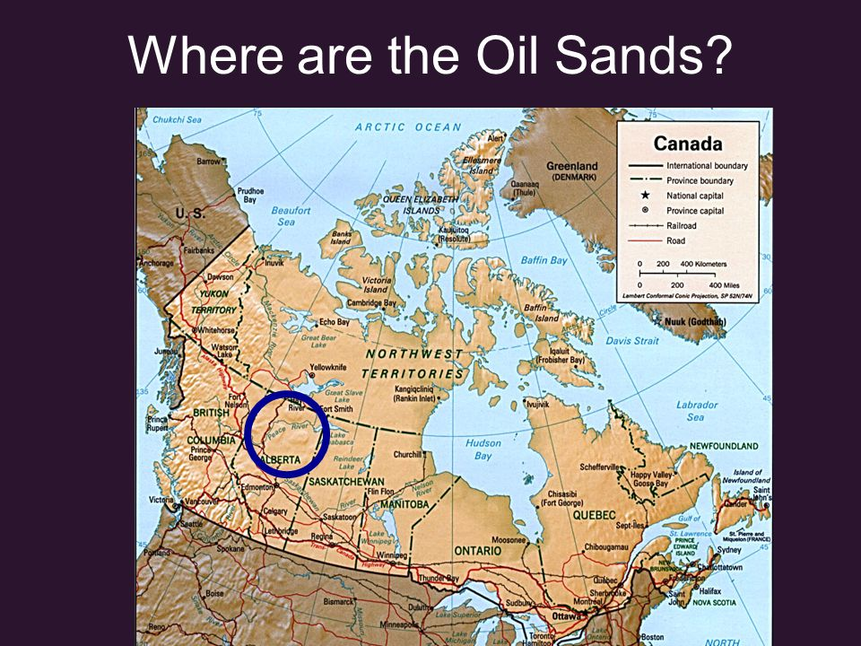 Alberta Oil Sands There are 3 major Deposits: 1.Athabasca 2.Cold Lake 3.The Carbonate Triangle: Peace River, Wabasca and Buffalo Head Hills The Athabasca Deposit is the largest, and is the only area being mined.