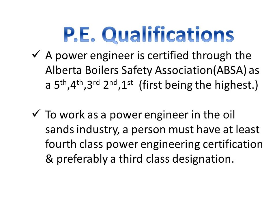 5 Power Engineers are expected to be in high demand in the next few years.