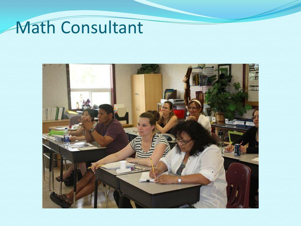 Math Consultant