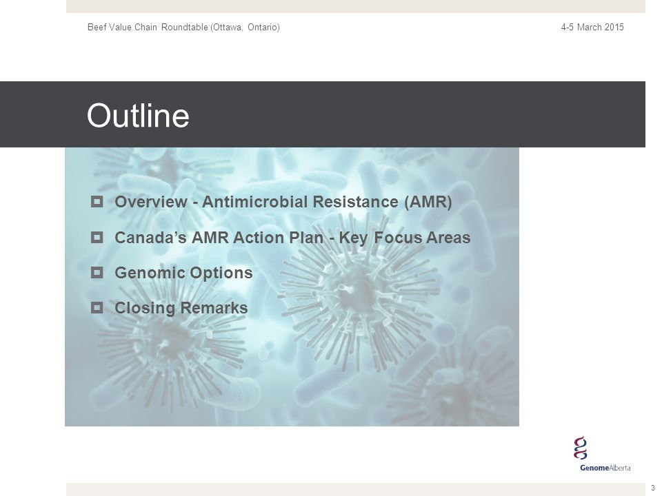 Overview - AMR What is Antimicrobial Resistance.