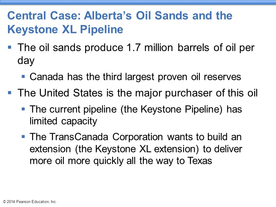 © 2014 Pearson Education, Inc.Or we might end up with too much fossil fuel energy.