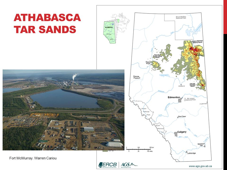 ATHABASCA TAR SANDS Fort McMurray. Warren Cariou