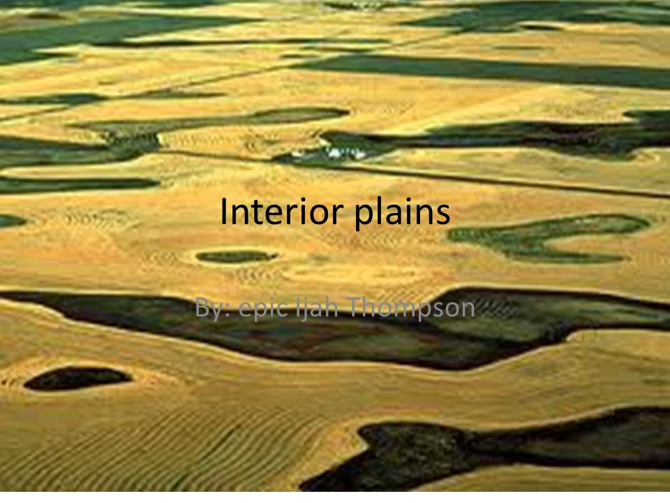 Art and Culture – In the Interior plains there culture and art is magnificent.