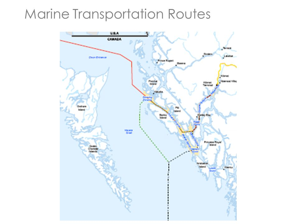 Marine Transportation Routes