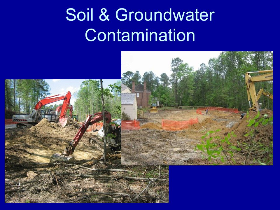 Soil & Groundwater Contamination