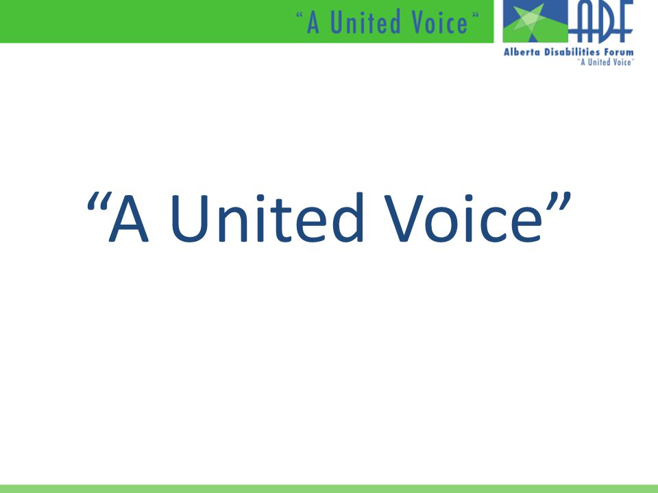 A United Voice