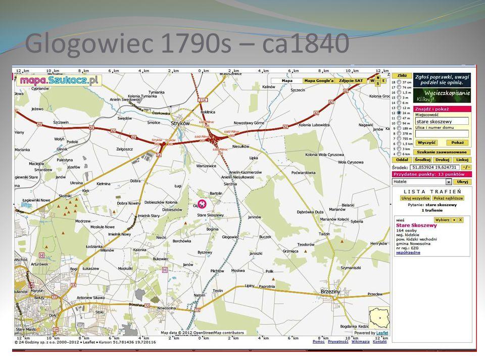 Glogowiec 1790s – ca1840