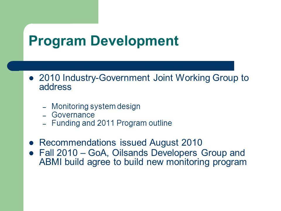 Recommendations to AEMP Biodiversity Monitoring 1.