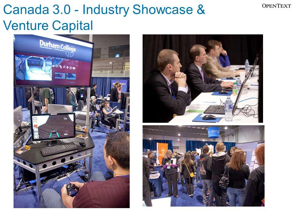 Canada 3.0 - Industry Showcase & Venture Capital