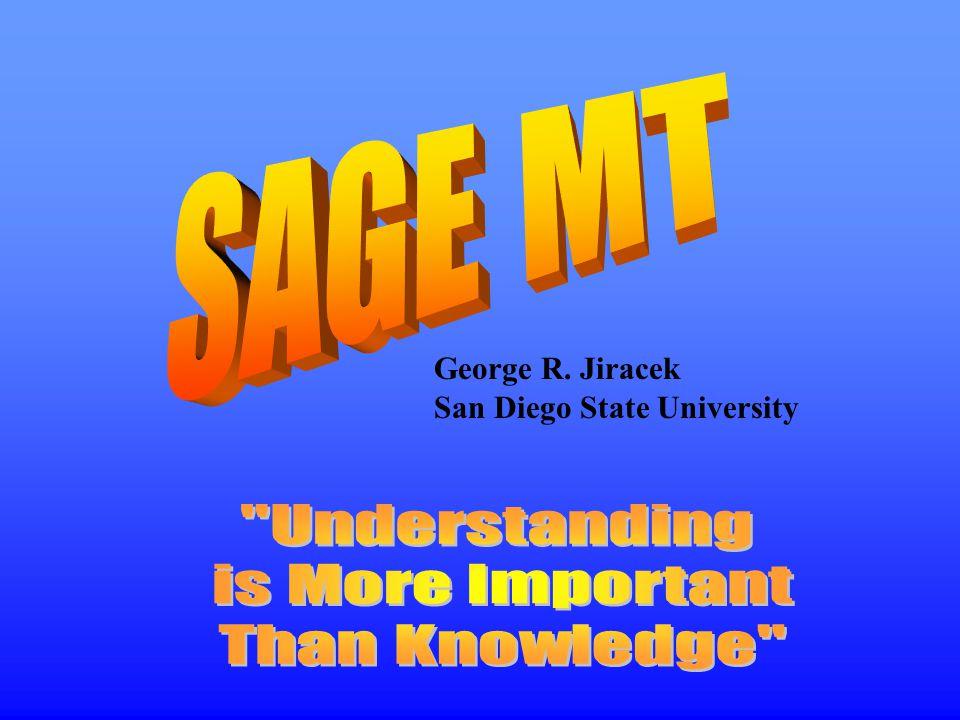 George R. Jiracek San Diego State University
