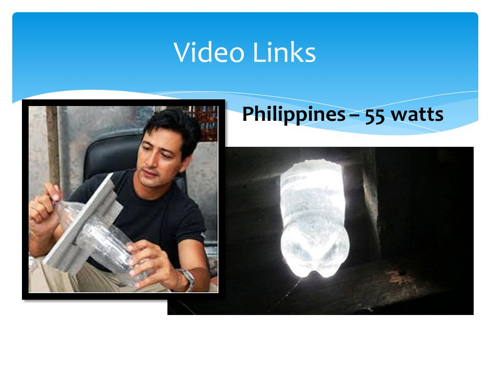Video Links Philippines – 55 watts
