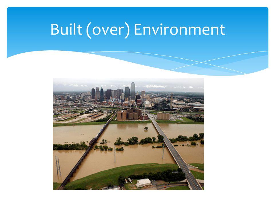 Built (over) Environment