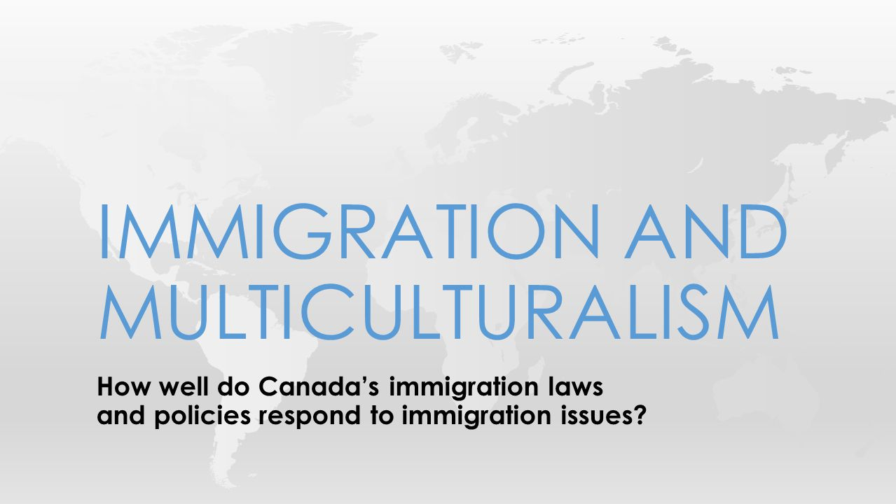 How well do Canada's immigration laws and policies respond to immigration issues.