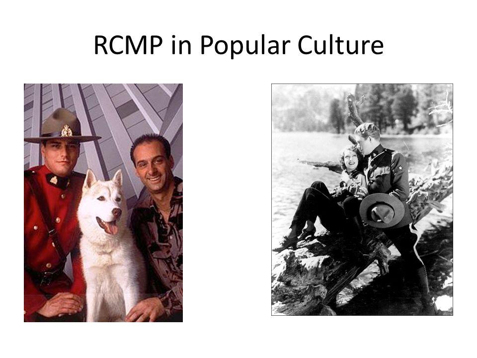 RCMP in Popular Culture