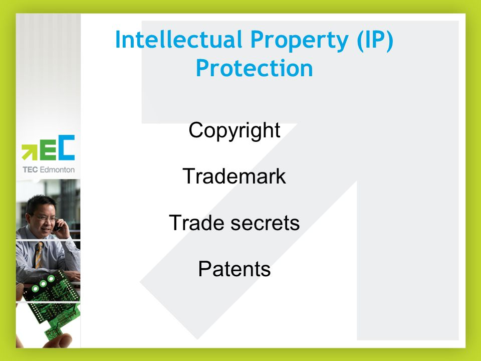 Copyright A tangible expression of an idea (e.g.