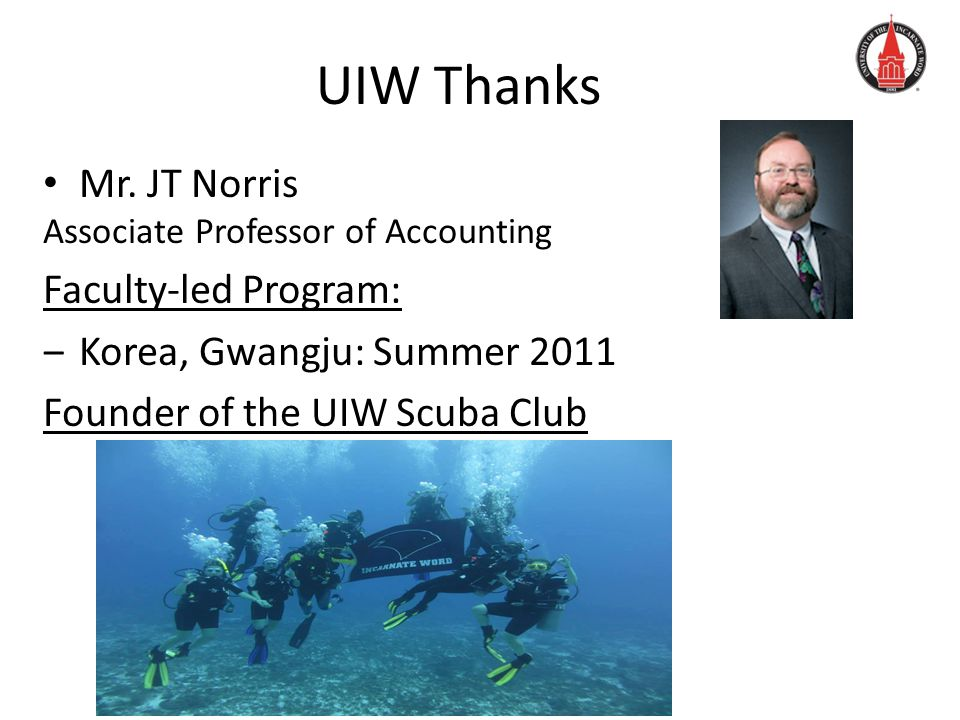 UIW Thanks Mr.