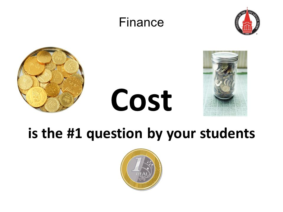 Finance Cost is the #1 question by your students