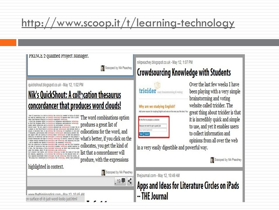 http://www.scoop.it/t/learning-technology