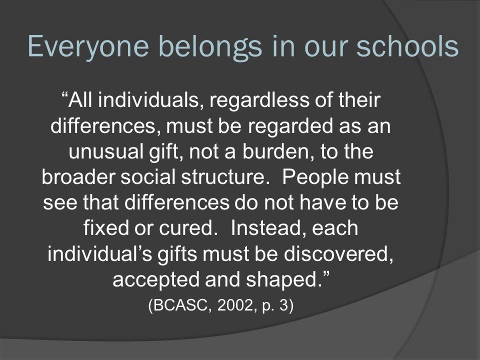Inclusive Education Canada:  Video Video  Bruce Uditsky, CEO, Alberta Association of Community Living  Christy Waldner, Saskatchewan parent