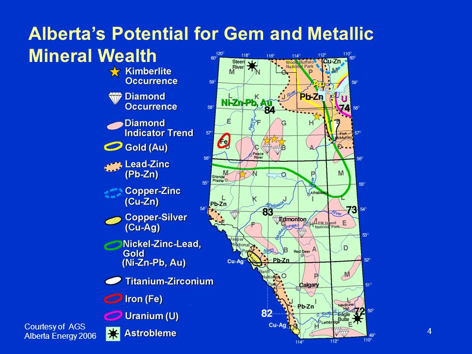 5 Edmonton Calgary Limestone & Other Stone Salt Placer Gold Brick Clay & Shale Iron & Magnetite Ammonite Shell Lethbridge City Mining Locations in Alberta Excludes sand, gravel and sulphur Coal Legend Fort McMurray Oil sands (surface mineable) Alberta Energy 2006