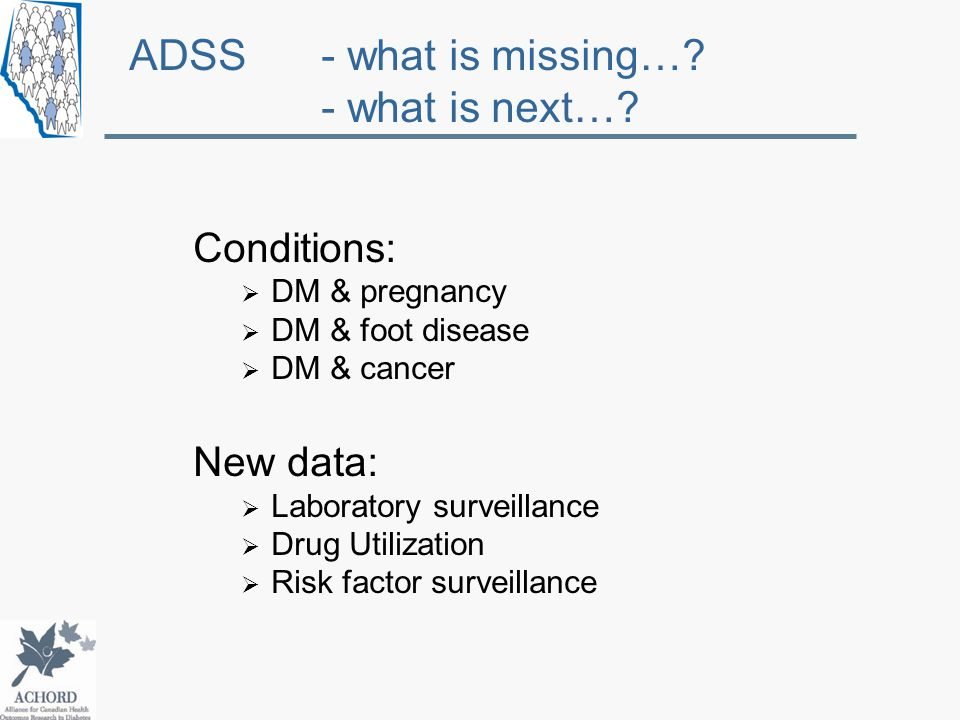 ADSS - what is missing…. - what is next….
