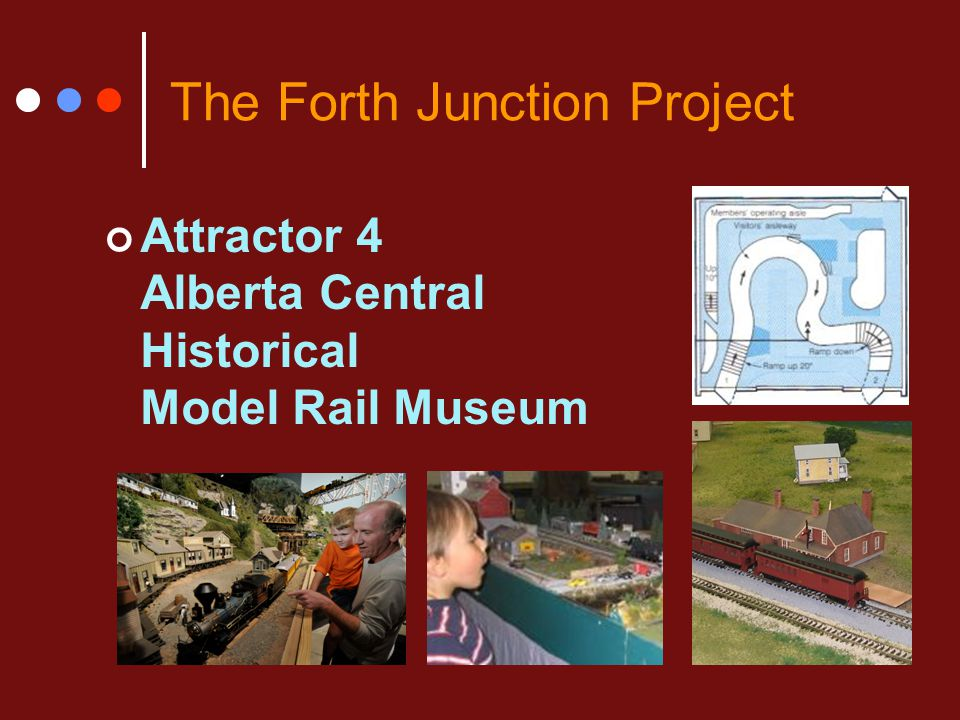 The Forth Junction Project Attractor 4 Alberta Central Historical Model Rail Museum