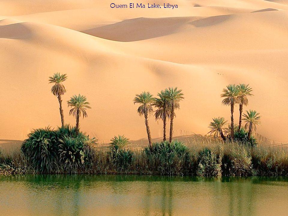 Ouem El Ma Lake, Libya