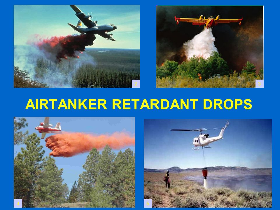 AIRTANKER RETARDANT DROPS 23 45