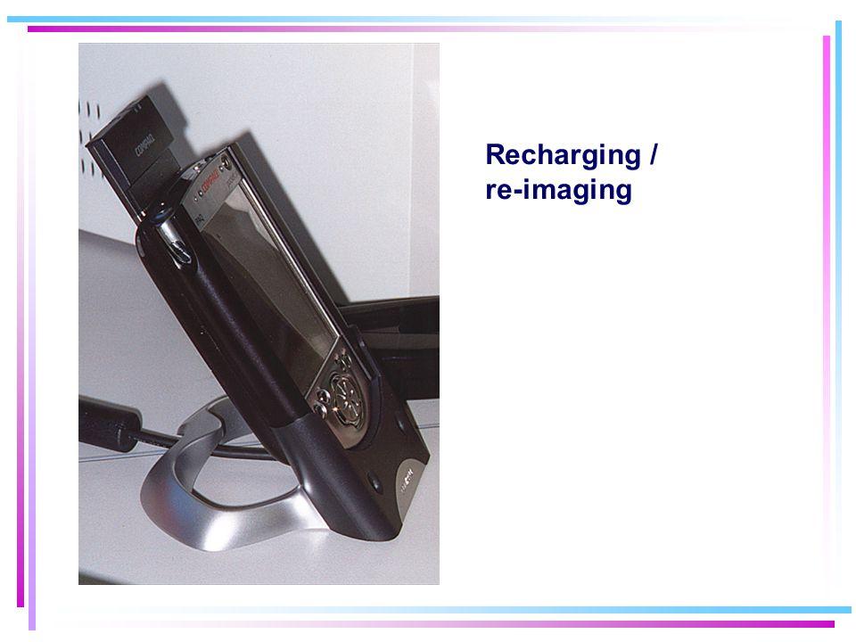 Recharging / re-imaging