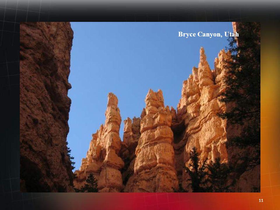 10 Bryce Canyon, Utah