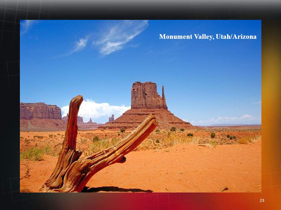 22 Monument Valley, Arizona