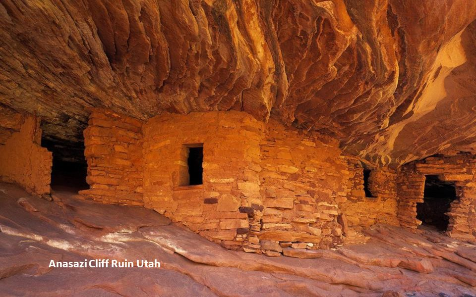Anasazi Cliff Ruin Utah