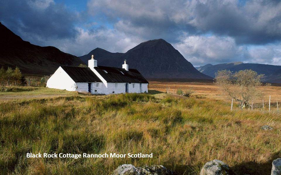 Black Rock Cottage Rannoch Moor Scotland