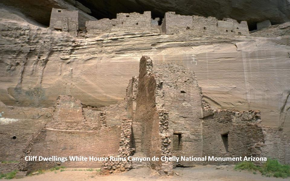 Cliff Dwellings White House Ruins Canyon de Chelly National Monument Arizona