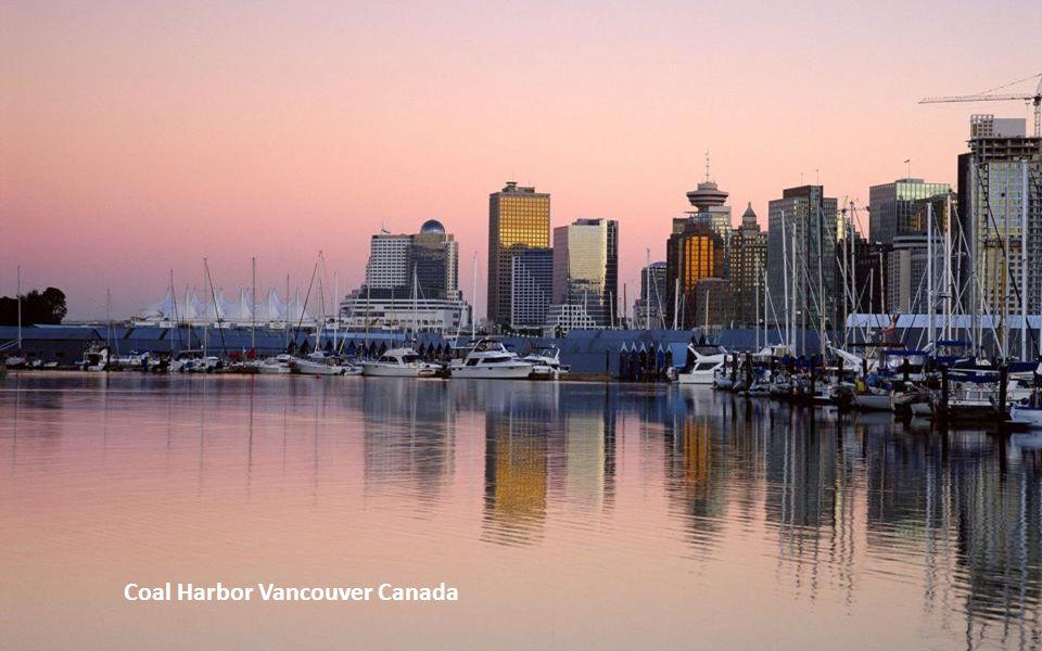 Coal Harbor Vancouver Canada