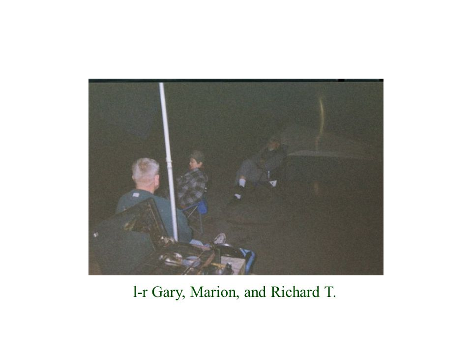 l-r Gary, Marion, and Richard T.