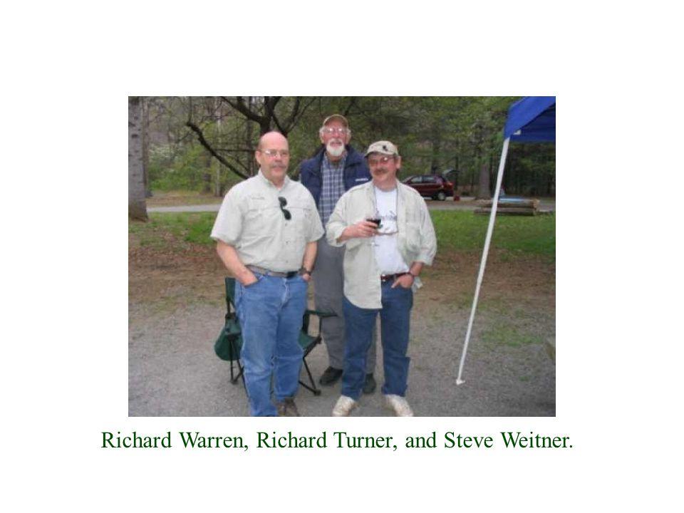 Richard Warren, Richard Turner, and Steve Weitner.