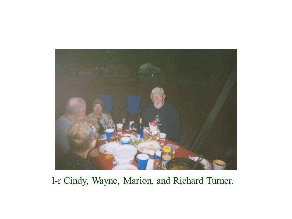 l-r Cindy, Wayne, Marion, and Richard Turner.