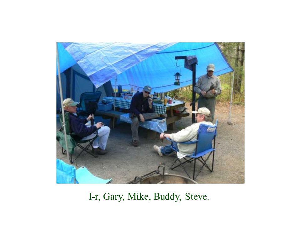 l-r, Gary, Mike, Buddy, Steve.