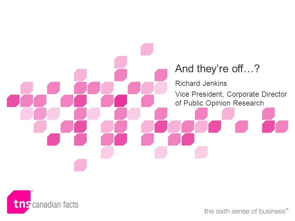 ©2005 TNS Canadian Facts 12 Strategic Counsel versus SES Polling: Liberals