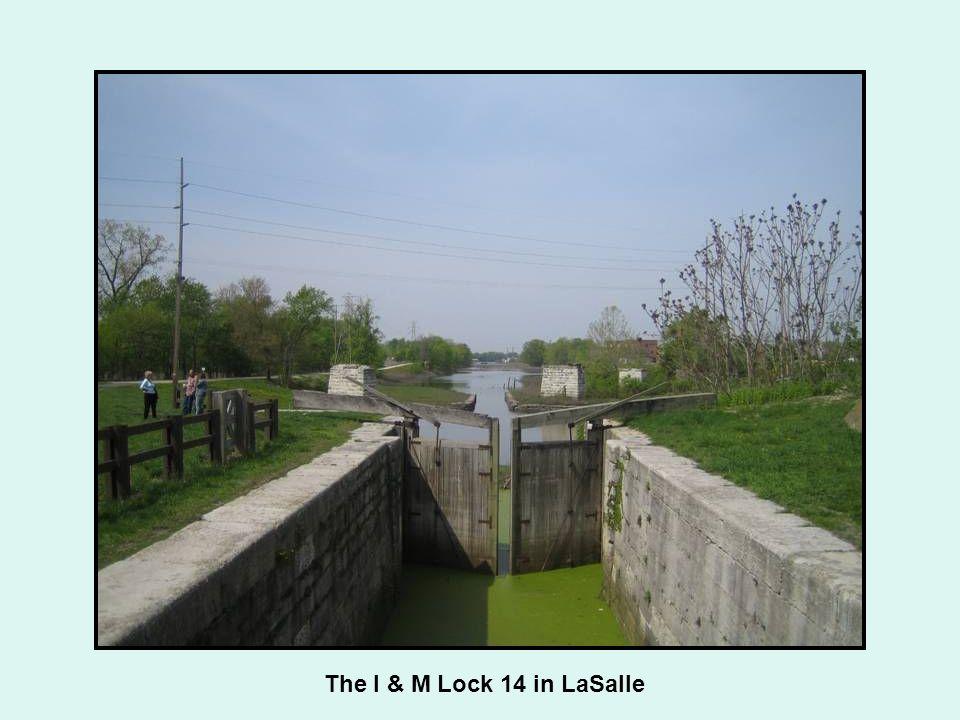 The I & M Lock 14 in LaSalle