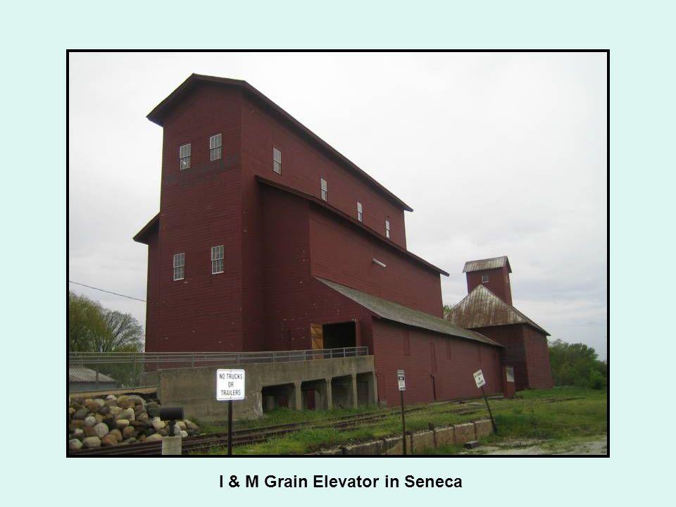 I & M Grain Elevator in Seneca