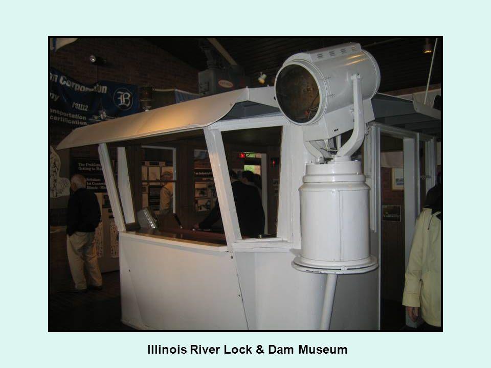 Illinois River Lock & Dam Museum